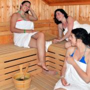 Détente au Spa : Sauna